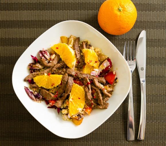 Couscous Rind Salat