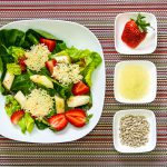 Spargel-Erdbeer Salat