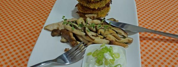 Quinoataler mit Shiitake
