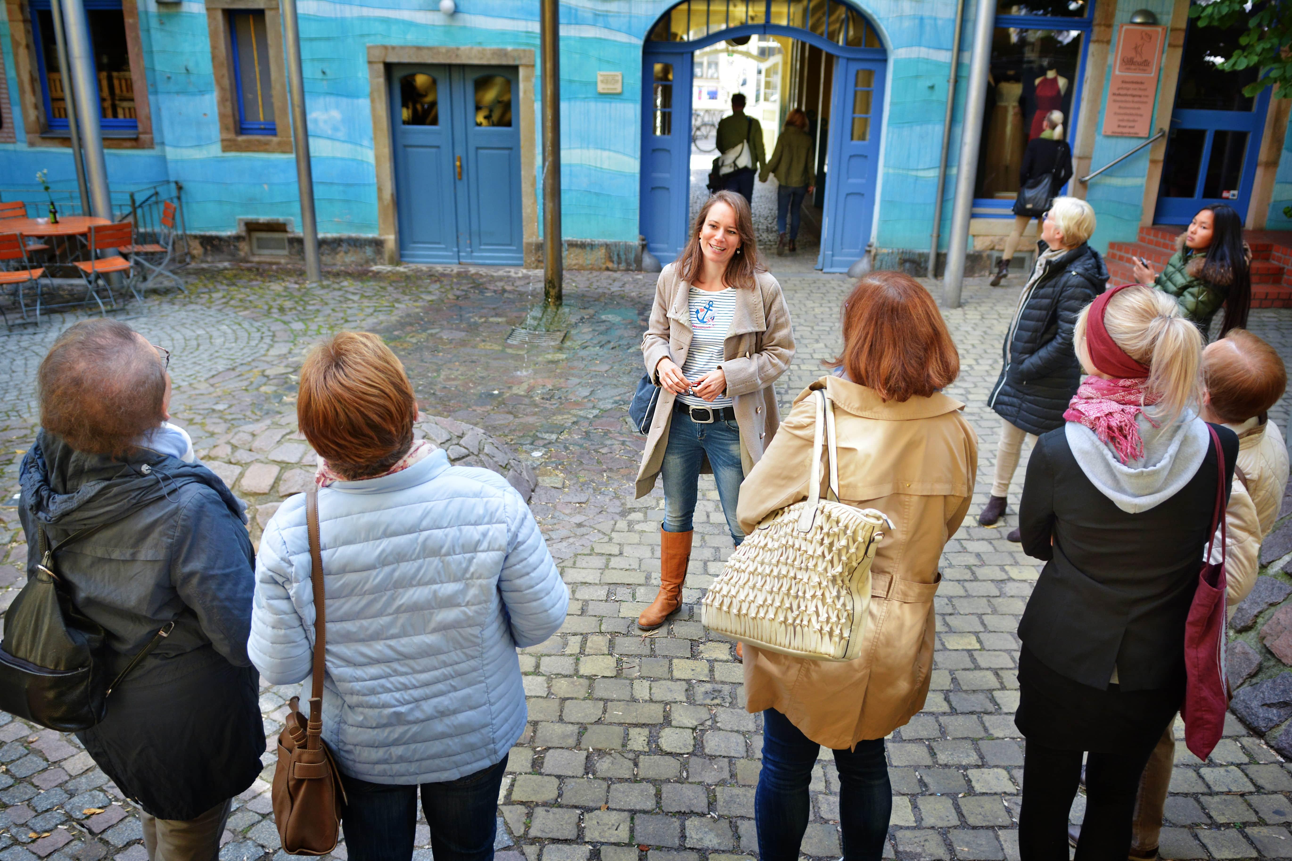 Dresden Neustadt Walking Dinner